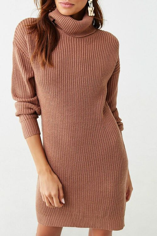 Turtleneck Mini Dress, image 1