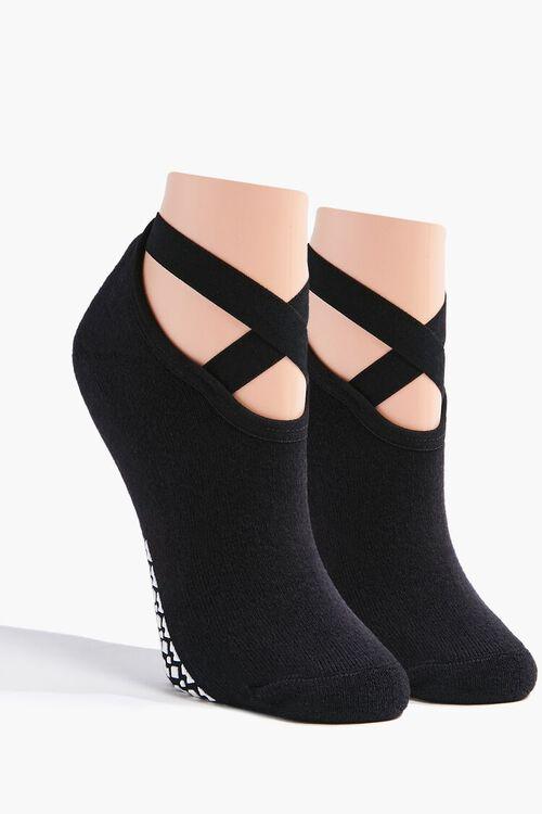 Crisscross Grip Socks, image 1