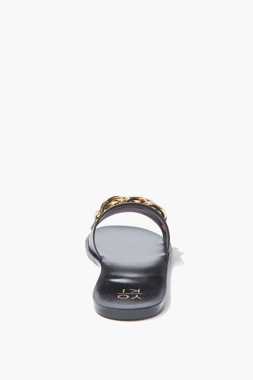 Chain-Strap Slip-On Sandals, image 3