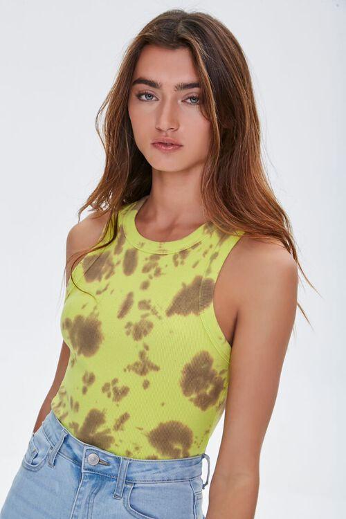 Tie-Dye Tank Bodysuit, image 2