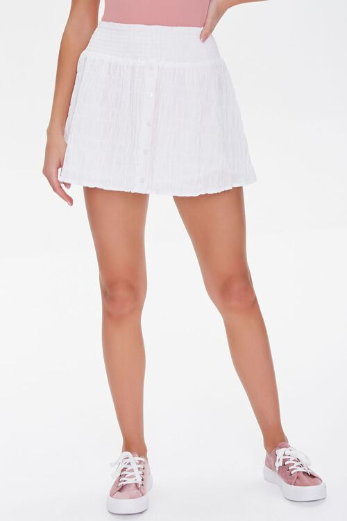 Textured Mini Skirt, image 2
