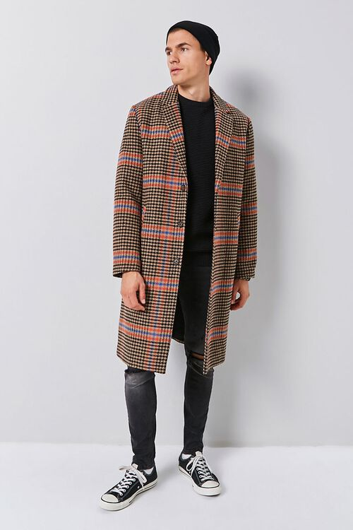 Glen Plaid Trench Coat, image 4