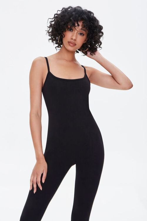 Fitted Cami Strap Jumpsuit, image 1