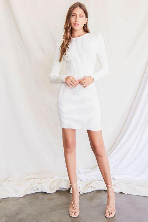 CREAM Twisted-Back Sweater Dress, image 5