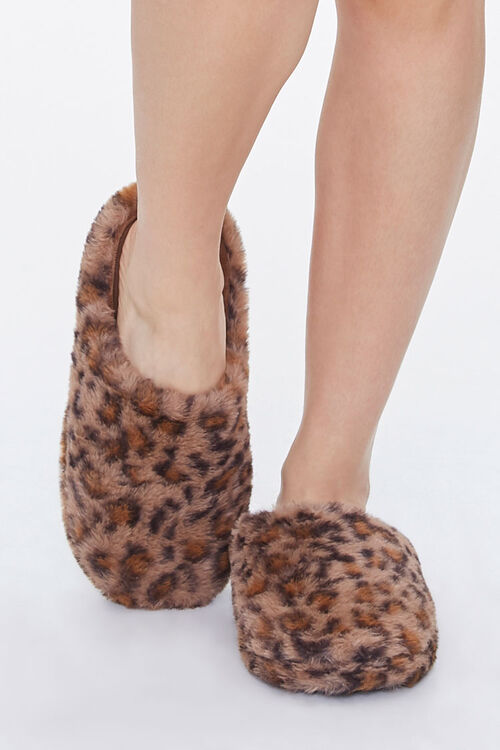 Leopard Print Slippers, image 4