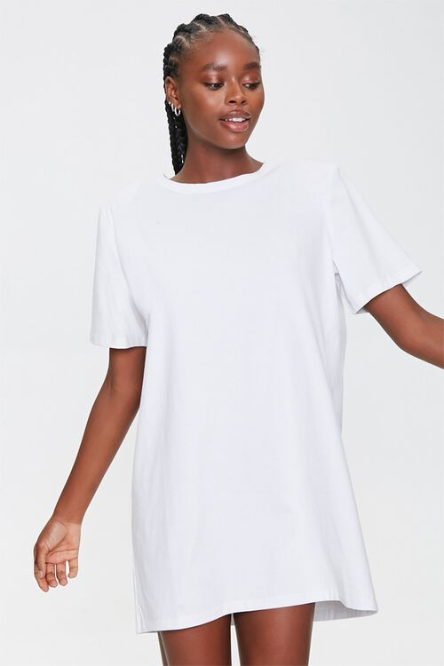 Shoulder-Pad T-Shirt Dress, image 1