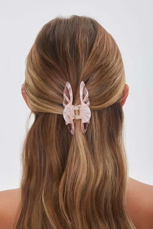 Marbled Cutout Claw Clip, image 2