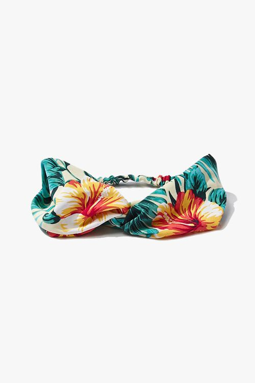 Tropical Twist-Front Headwrap, image 2