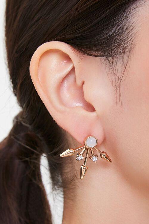 Arrow Stud Earrings, image 1