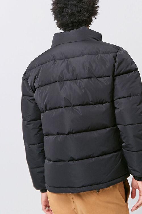 Zip-Up Puffer Jacket, image 3