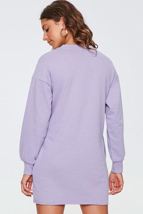 French Terry Sweatshirt Dress, image 3