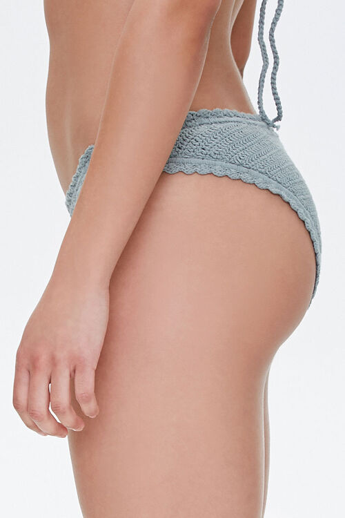 Crochet Low-Rise Bikini Bottoms, image 3