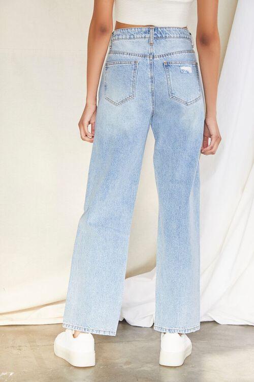 Crisscross Waist 90s Fit Jeans, image 4
