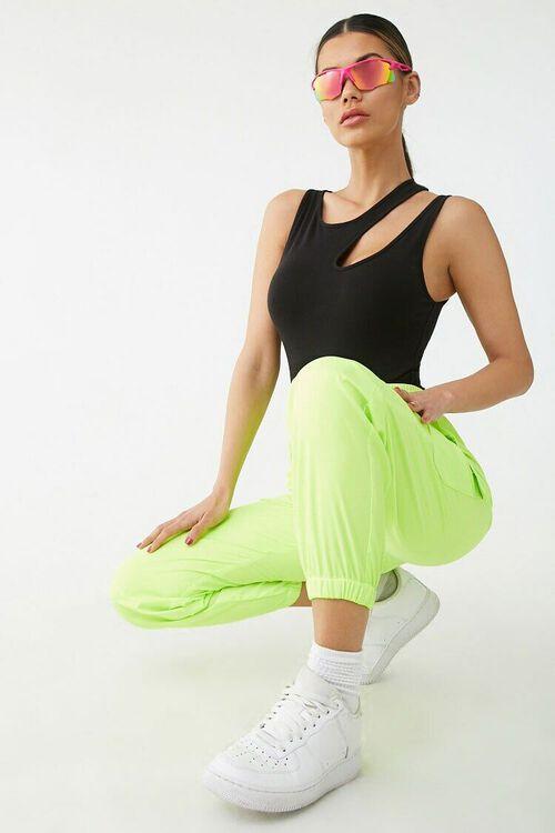 Asymmetrical Cutout Bodysuit, image 4