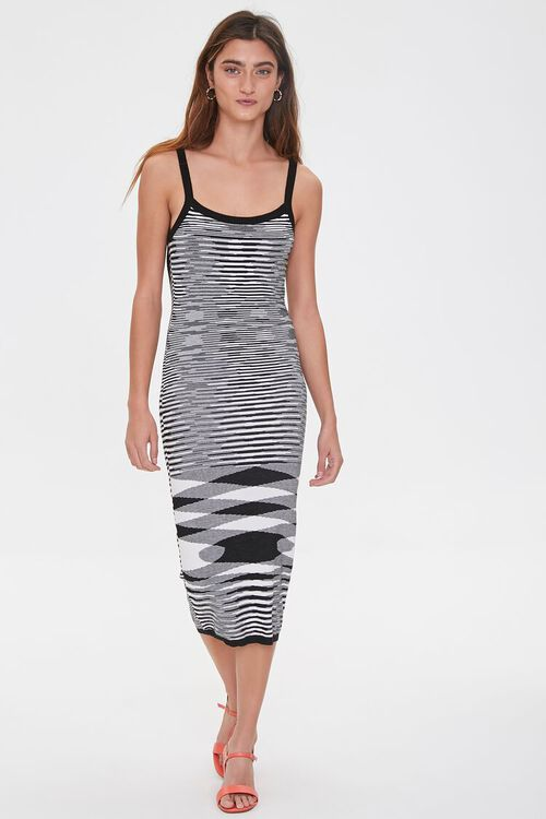Abstract Geo Midi Dress, image 4