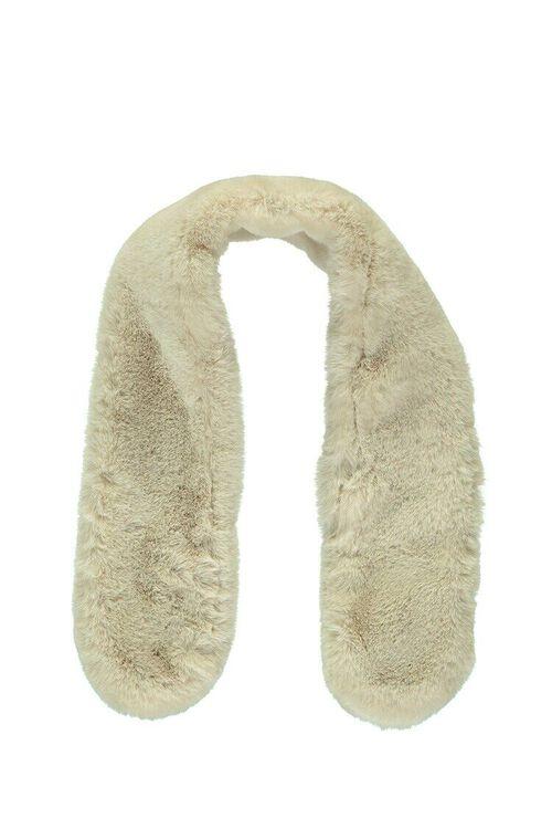 Faux Fur Oblong Collar, image 2