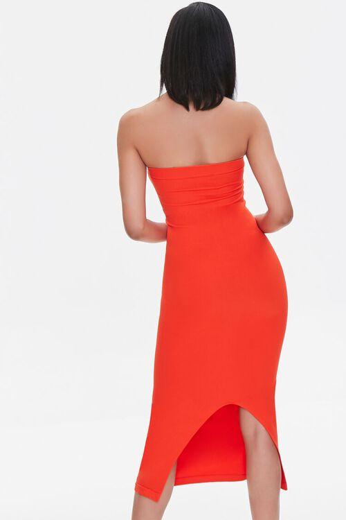 Seamless Strapless Bodycon Midi Dress, image 3