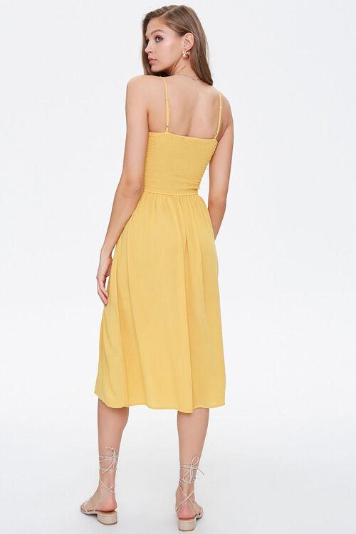 Smocked Cami Midi Dress, image 3