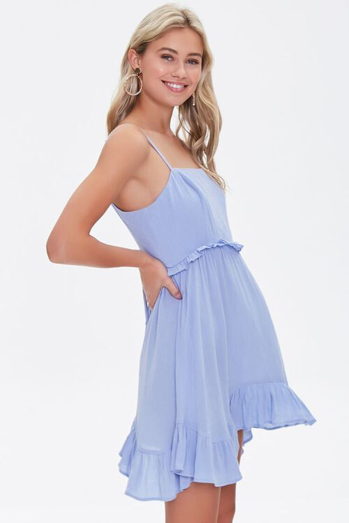 Ruffle-Trim Mini Dress, image 2