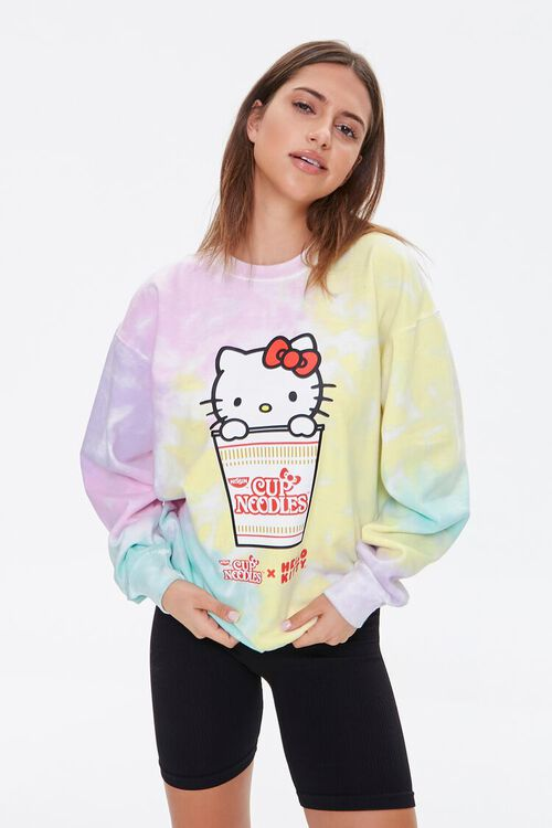 Cup Noodles x Hello Kitty Pullover, image 1