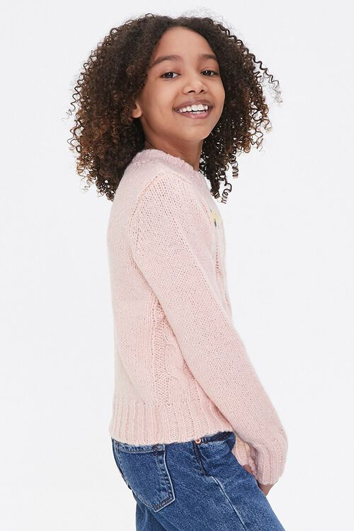 Girls Cable Knit Sweater (Kids), image 2
