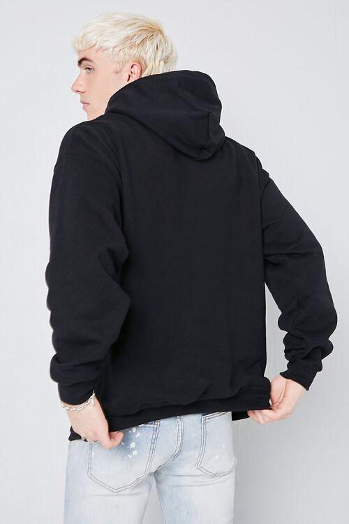 BLACK/MULTI Boys N the Hood Graphic Hoodie, image 3