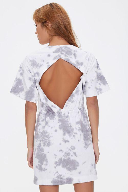 Tie-Dye Cutout T-Shirt Dress, image 4