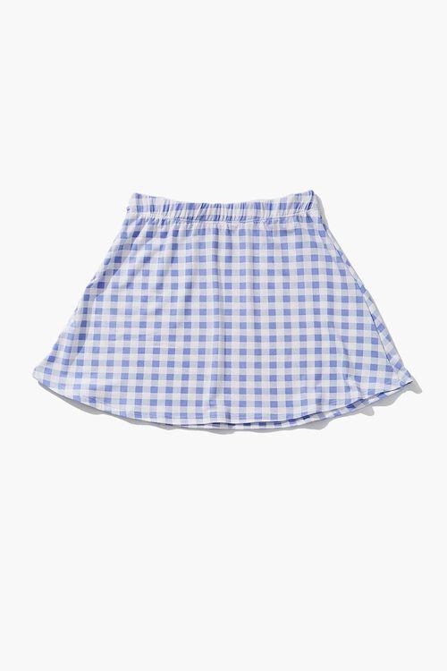Girls Gingham Skirt (Kids), image 1