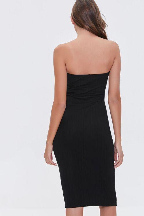 BLACK Cutout Bodycon Dress, image 4