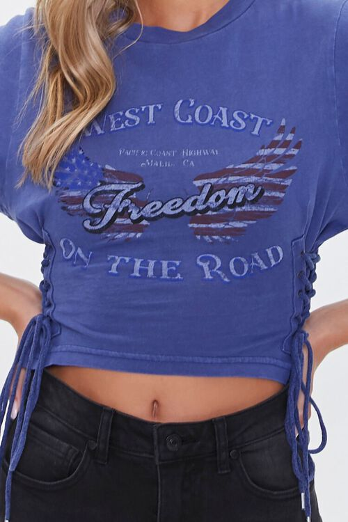 Freedom Riding Club Lace-Up Tee, image 5