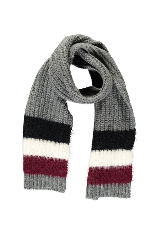 Colorblock Oblong Scarf, image 1
