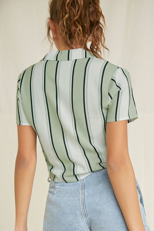 Knotted Striped Shirt, image 3