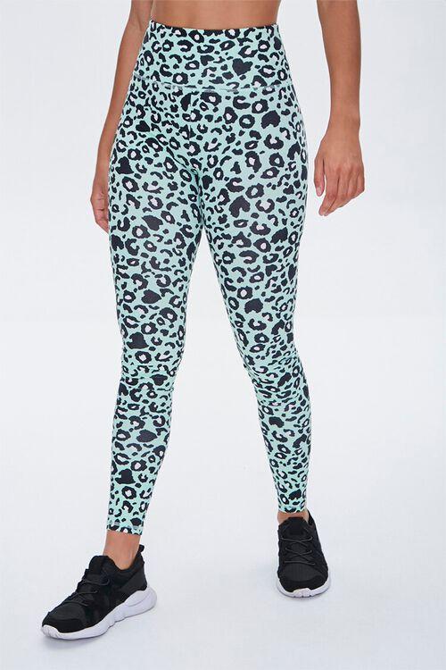 Active Leopard Print Leggings, image 1