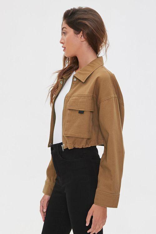 Drawstring Zip-Up Jacket, image 2