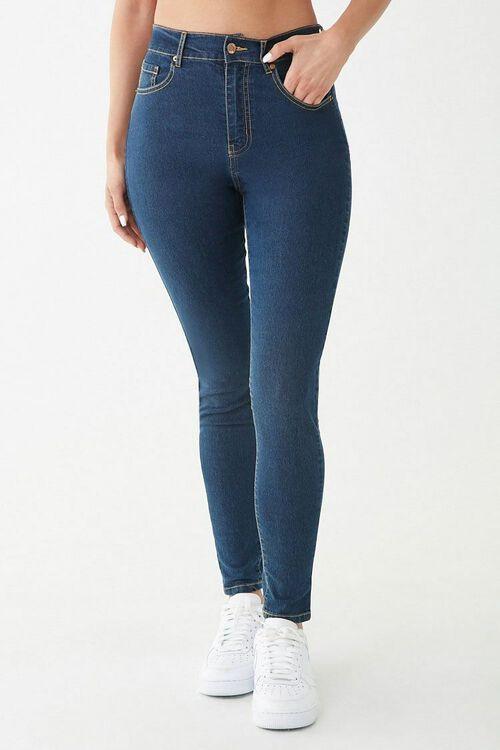 Stretch High-Waist Skinny Jeans, image 2