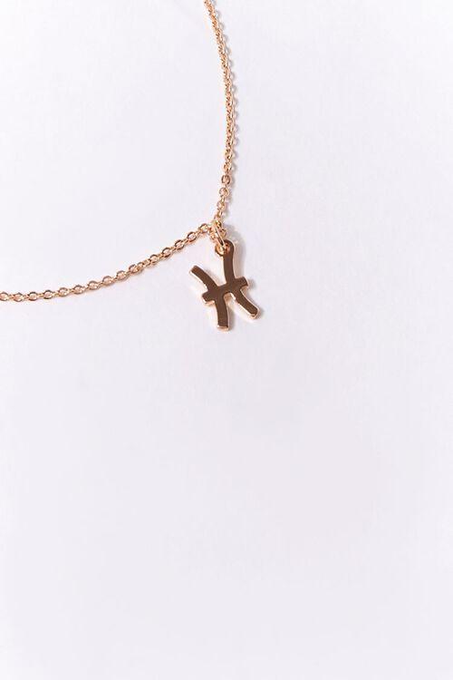 Pisces Charm Necklace, image 1