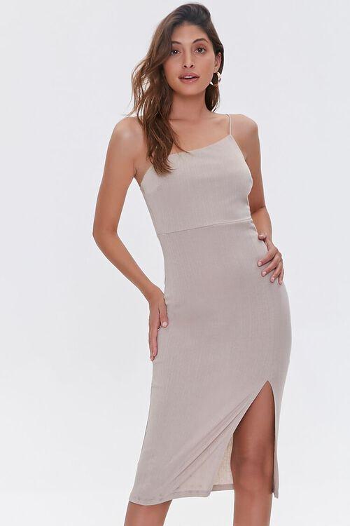 Asymmetrical Cami Dress, image 1