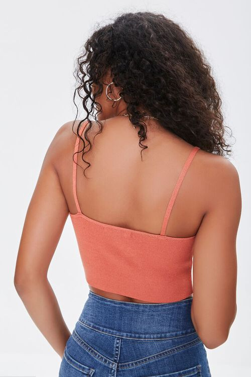 Floral Sweater-Knit Cropped Cami, image 4