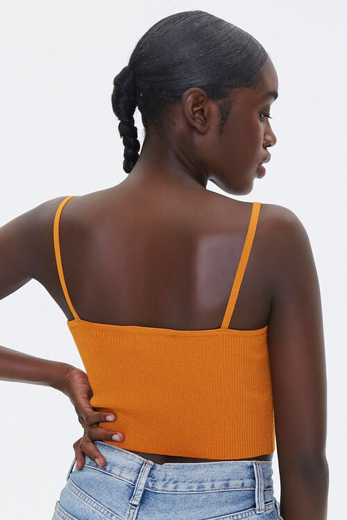 Sweater-Knit Ribbed Cami, image 3
