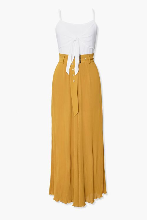 Knotted Combo Jumpsuit, image 1