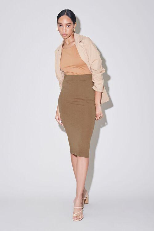 High-Rise Pencil Skirt, image 5
