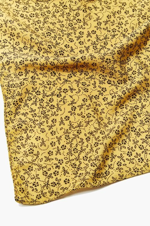 Floral Print Square Scarf, image 6