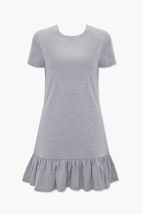 Ruffle-Hem T-Shirt Dress, image 1