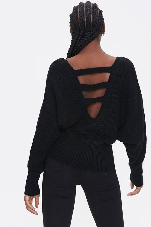 Ladder Cutout Sweater, image 2
