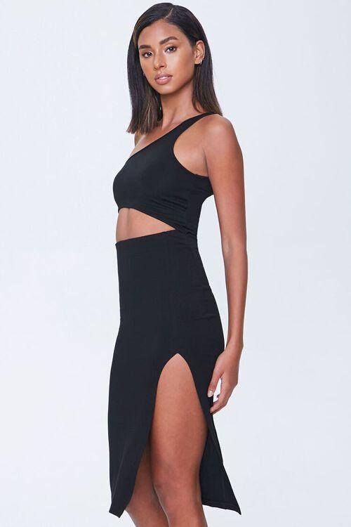Cutout One-Shoulder Dress, image 2
