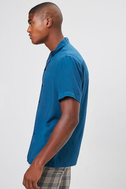 Classic-Fit Cuban Collar Shirt, image 2