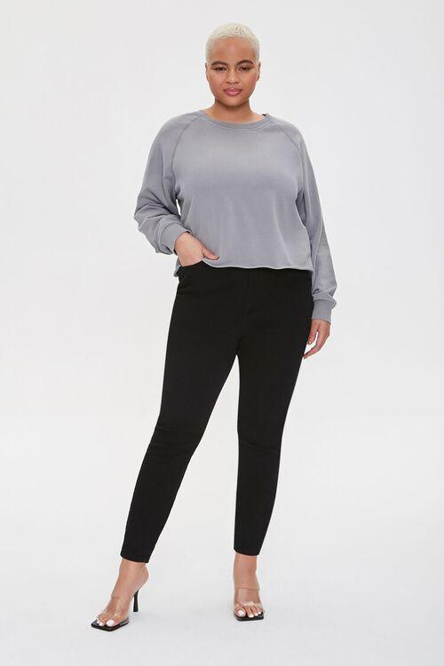 Plus Size Raglan Pullover, image 4
