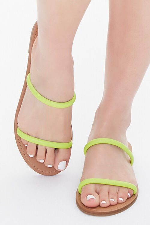 Dual-Strap Flat Sandals, image 4