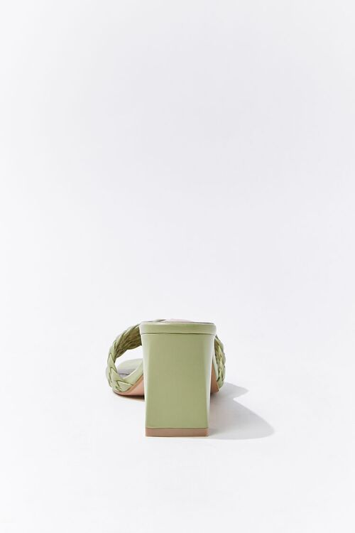 Braided Slip-On Block Heels, image 2