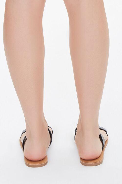 Faux Leather Dual-Strap Sandals, image 3